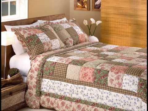 Almofadas bordadas com patchwork quilts