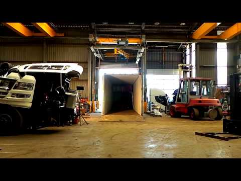 Kleyn Trucks Preparing M.A.N Trucks for Transport 1 Mintute | automobile calculator,