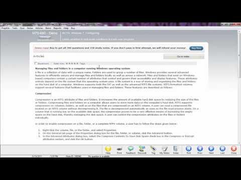 QuickCert MCTS 70-620- Windows Vista, Configuring: Upgrading Between Windows Vista Versions