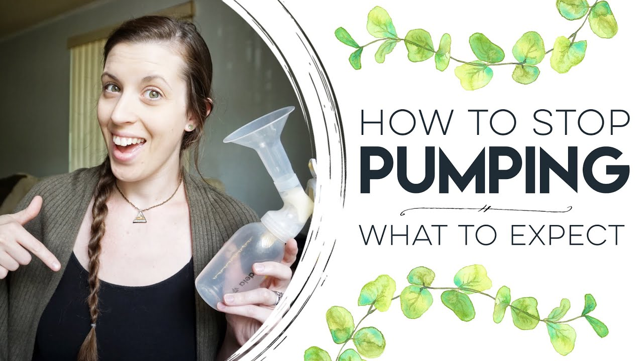 How to Stop Pumping   Exclusively Pumping Tips & What to Expect - YouTube