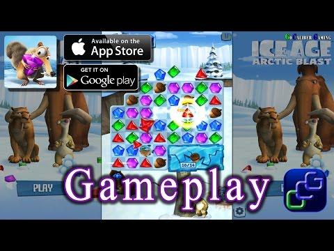 ICE AGE Artic Blast Gameplay