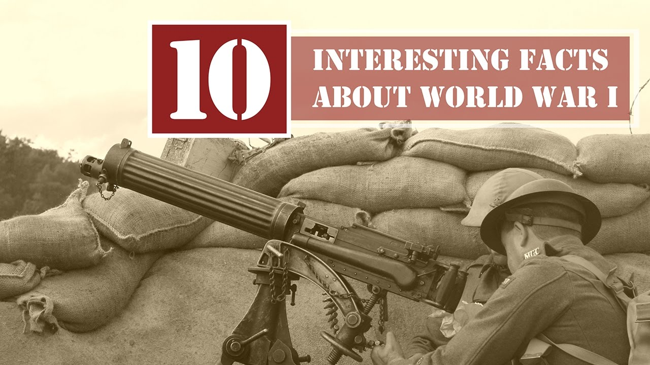 Facts About Wwi 75 Interesting World War I Facts Fact Retriever
