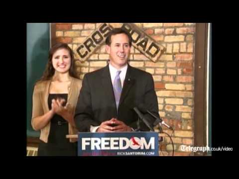 US election: Republican candidate Rick Santorum wins Louisiana primary