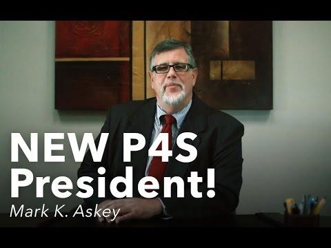 NEW P4S President!