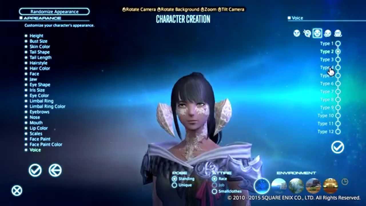 Final fantasy 14 a realm reborn characters