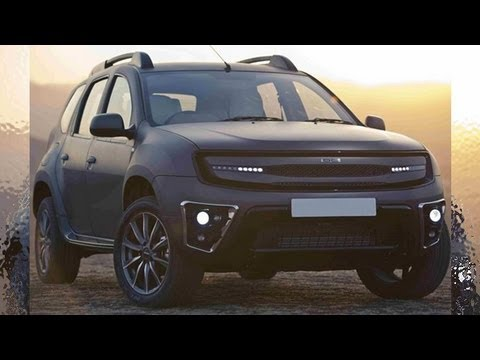 2013 dc design dacia duster custom youtube. Black Bedroom Furniture Sets. Home Design Ideas