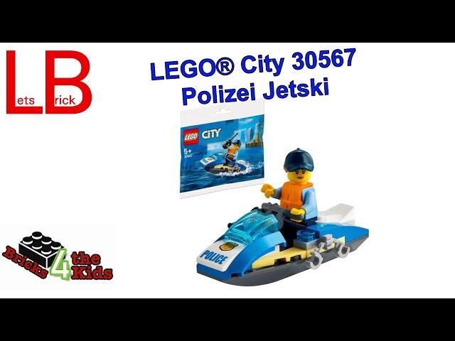 LEGO® 30567 - City - Polizei Jetski - Polybag