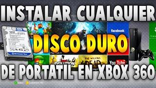 #TutorialesRgh ¿Cómo utilizar cualquier disco duro de portátil en Xbox 360? FÁCIL! 2016