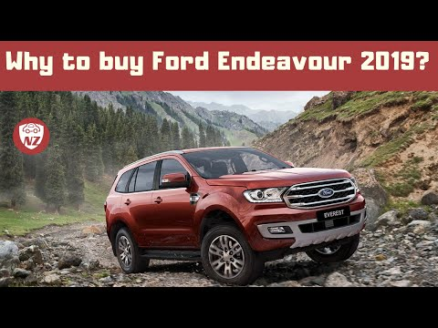 2019 Ford Endeavour 3.2 - First Drive & Short Review | Ford Everest | Nick Zeek