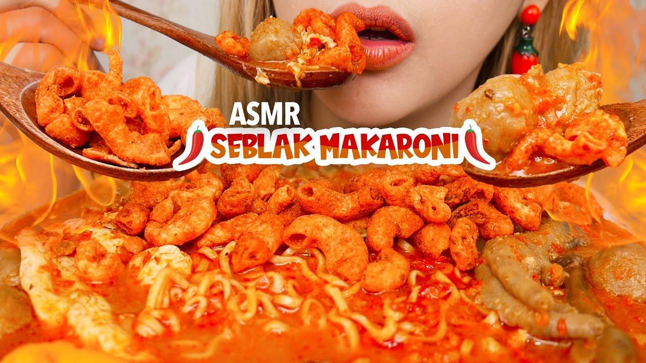 #167 Request ASMR SEBLAK MAKARONI SUPER HOT JELETOT | ASMR Indonesia