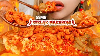 #167 Request ASMR SEBLAK MAKARONI SUPER HOT JELETOT | ASMR Indonesia