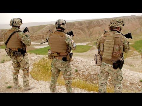 Patrouille mit georgischer QRF