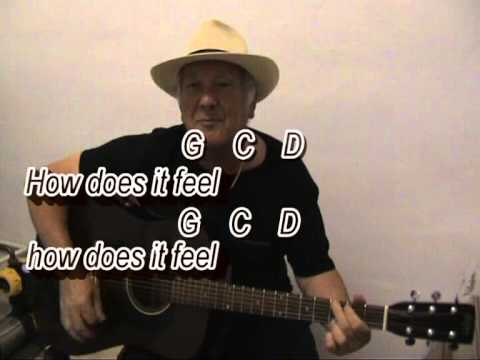 Like A Rolling Stone - Bob Dylan cover - easy chords guitar lesson ...