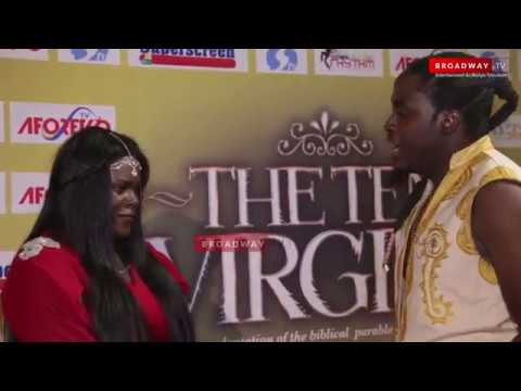 """Download Actor Propose To His Girlfriend At """"The Ten Virgins"""" Movie Premiere"""