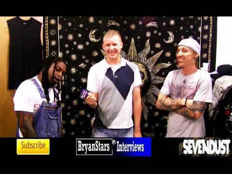 Sevendust Interview Lajon Witherspoon & Morgan Rose 2010