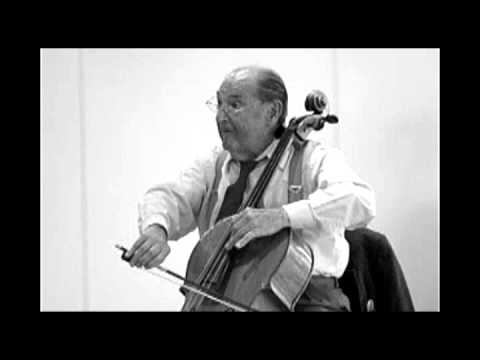 Bernard Greenhouse plays Dvořák's cello concerto in B Minor, Op. 104 (1st mvt.)