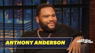 Anthony Anderson Ate Pasta and Pizza with Prince at 3 A.M.