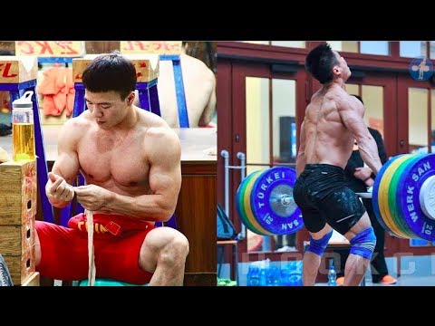 Chinese Olympic Weightlifting Technique 2018