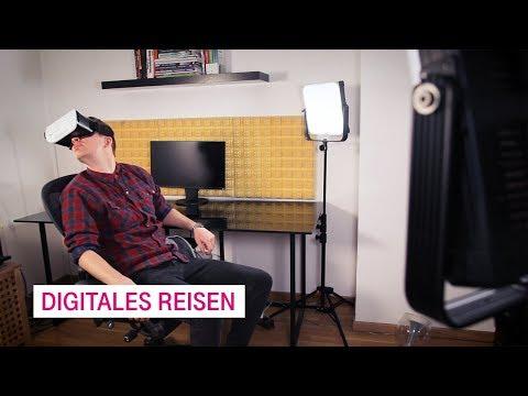 Social Media Post: Digitales Reisen - Netzgeschichten