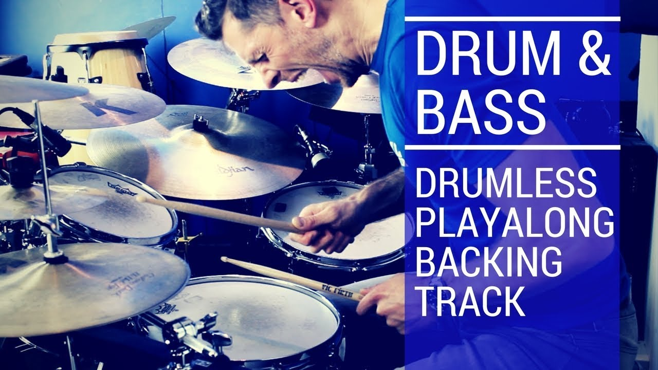 Drum And Bass Drumless Playalong Total Drummer Online Drum Lessons