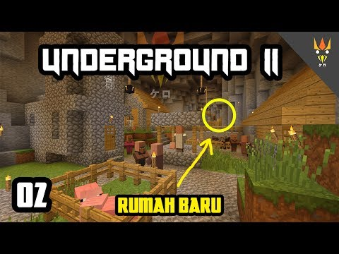 VILLAGER YANG SELALU INGIN TAHU! - Minecraft Underground 2 Indonesia #2