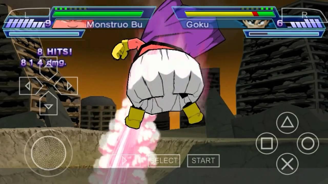 descargar dragon ball shin budokai 2 para ppsspp android gratis