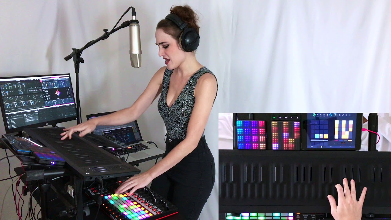 How Deep Is Your Love- Calvin Harris & Disciples (Live Looping Cover by Neon Vines)