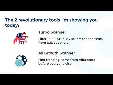 eBay Dropshipping with the Aligrowth and Turbo Scanner revolutionary tools by ZIK Analytics
