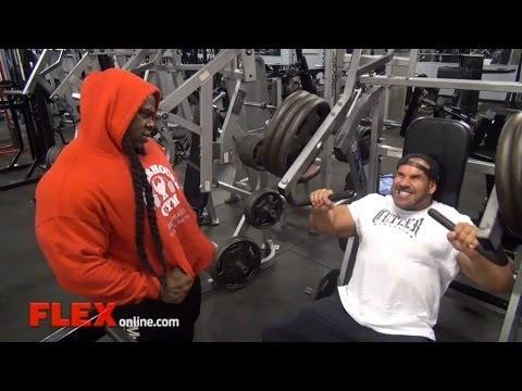 Jay & Kai Train At Bev Francis Powerhouse Gym
