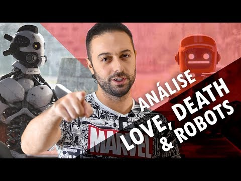 Analisamos o Design da série Love, Death & Robots
