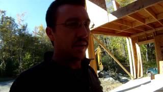 5th Floor Start - 50 - My Diy Garage Build Hd Time Lapse