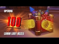Opening 100 LUNAR LOOT BOXES - Overwatch