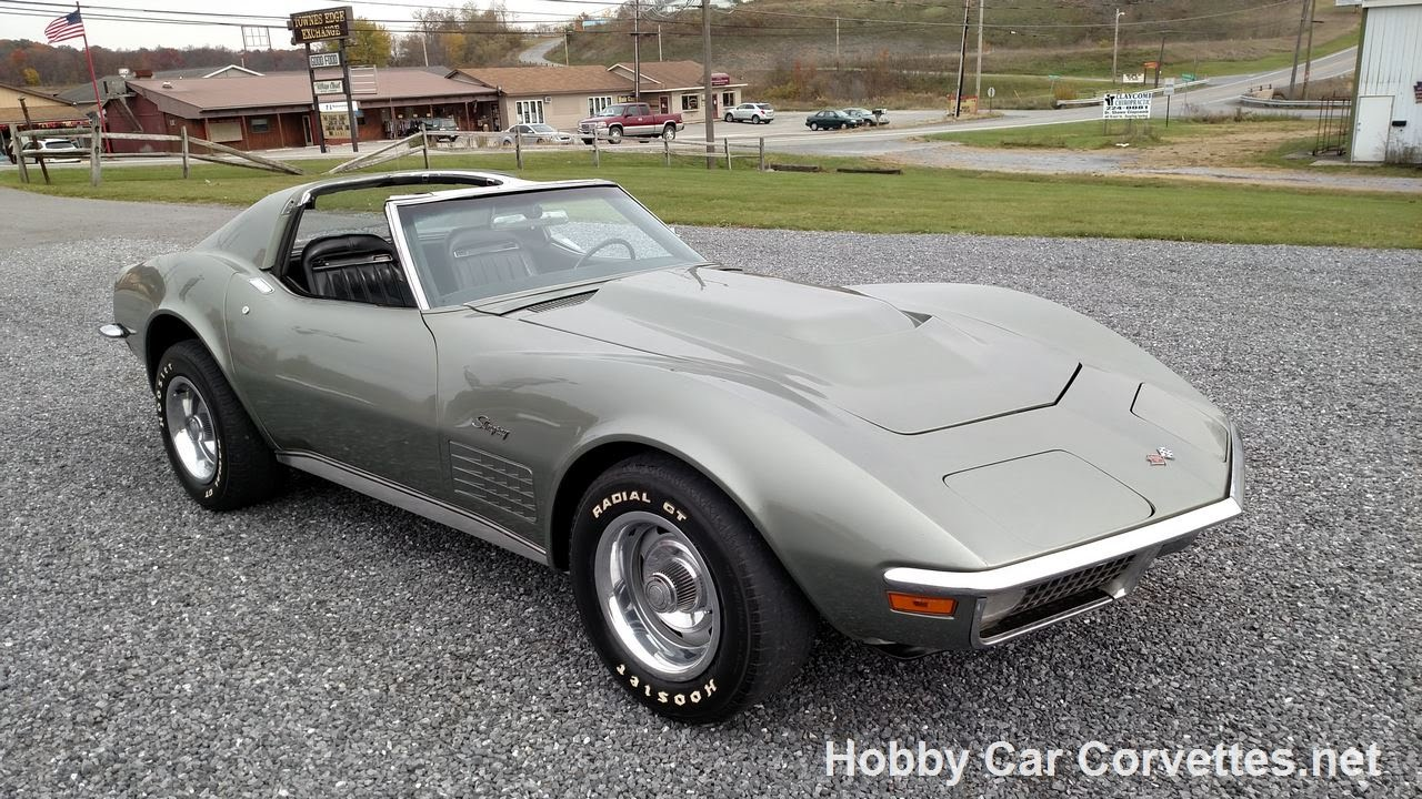 1971 Steel Cities Gray Corvette Hot Rod 4spd YouTube