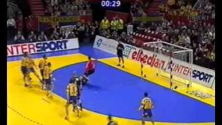 Sweden vs Germany EM2002 Handball Part 1/14