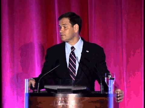 Marco at the Hillsborough County 2013 Lincoln Day Dinner