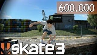 Skate 3 - 600.000 Shapes! Bugs! Acidentes! - Parte #20