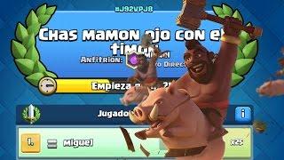 CHAS MAMON OJO CON EL TIMON! Torneo de Ascenso a Rayo Hibrido