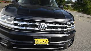 BRAND NEW 2018 Volkswagen Atlas SE Technology R-Line Walk-Around at Trend Motors VW