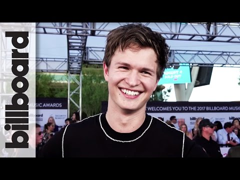 Ansel Elgort on His 2 Upcoming Singles & Working With Logic | 2017 Billboard Music Awards