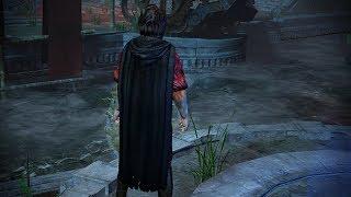 Path of Exile: Black Hooded Cloak