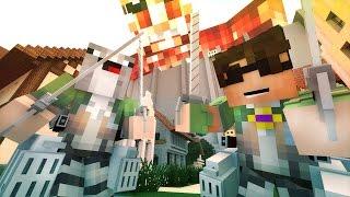 ROSS' TITAN NIGHTMARES!   Minecraft Roleplay [Attack on Titan Mod]