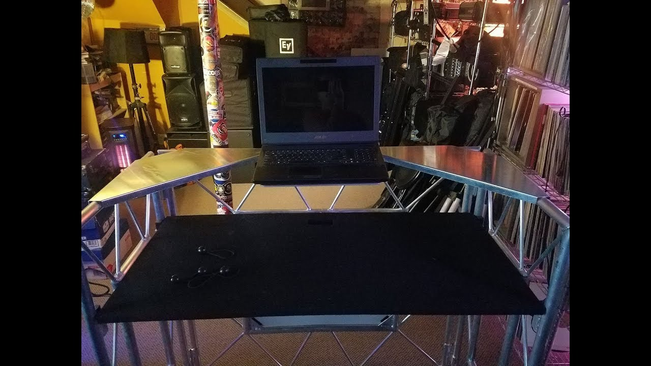 - DJ Ideas - A Pro Event Table GTA Laptop Stand - YouTube