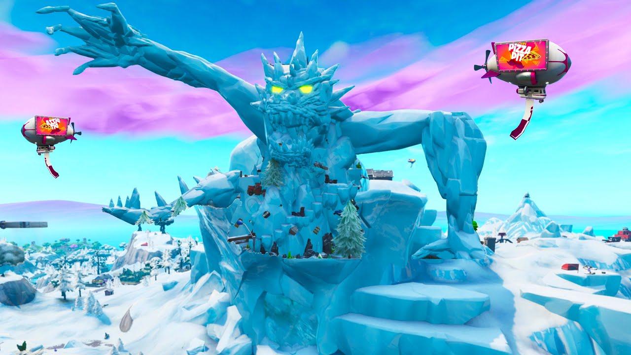 """*NEW* Polar Peak Monster Size """"REVEALED""""? Fortnite Season ..."""