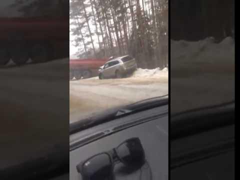 В Ивановской области мазутовоз столкнулся с кроссовером
