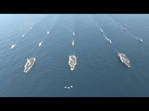 High Alert - After China's Massive Drill, U.S. Patrols Disputed South China Sea