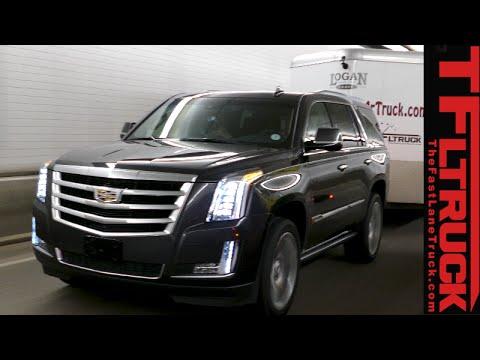 2017 Cadillac Escalade Vs Gmc Yukon Lincoln Navigator Ike Gauntlet Towing Test Review