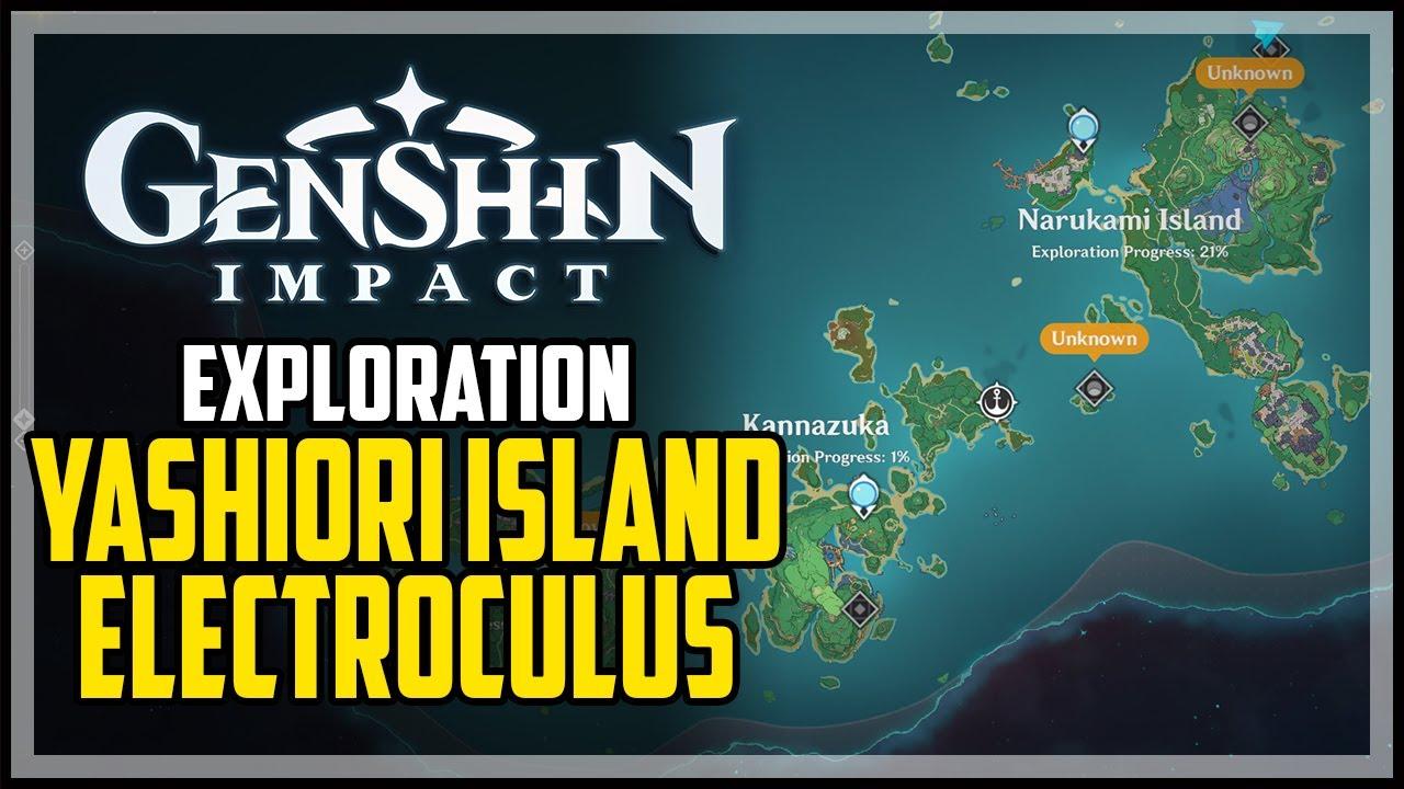 To start the whole orobashi's legacy quest line, you will need to talk to kaji in fort fujitou in inazuma's yashiori island. Yashiori Island All Electroculus Locations Genshin Impact Youtube