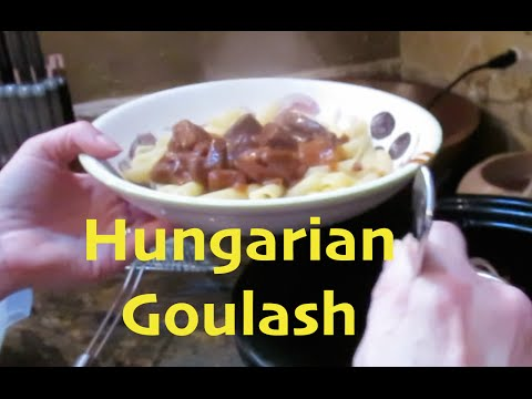 Hungarian Goulash| Crock Pot