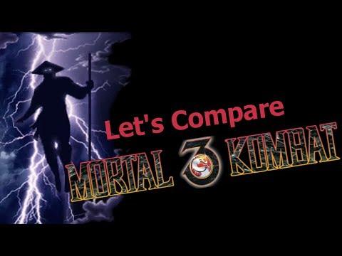 Let's Compare ( Mortal Kombat 3 )