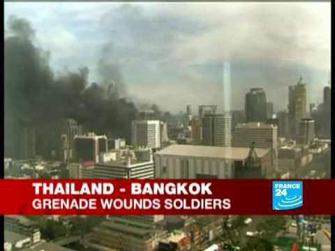 Thailand: protester storm town hall in Northeast